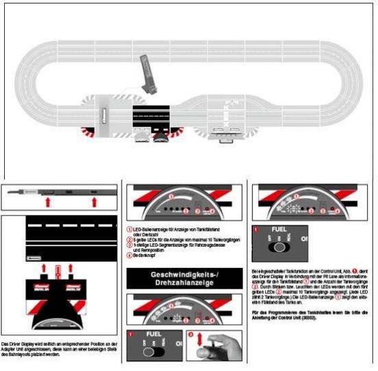 carrera digital 132 124 driver display 1 stk slotfun. Black Bedroom Furniture Sets. Home Design Ideas